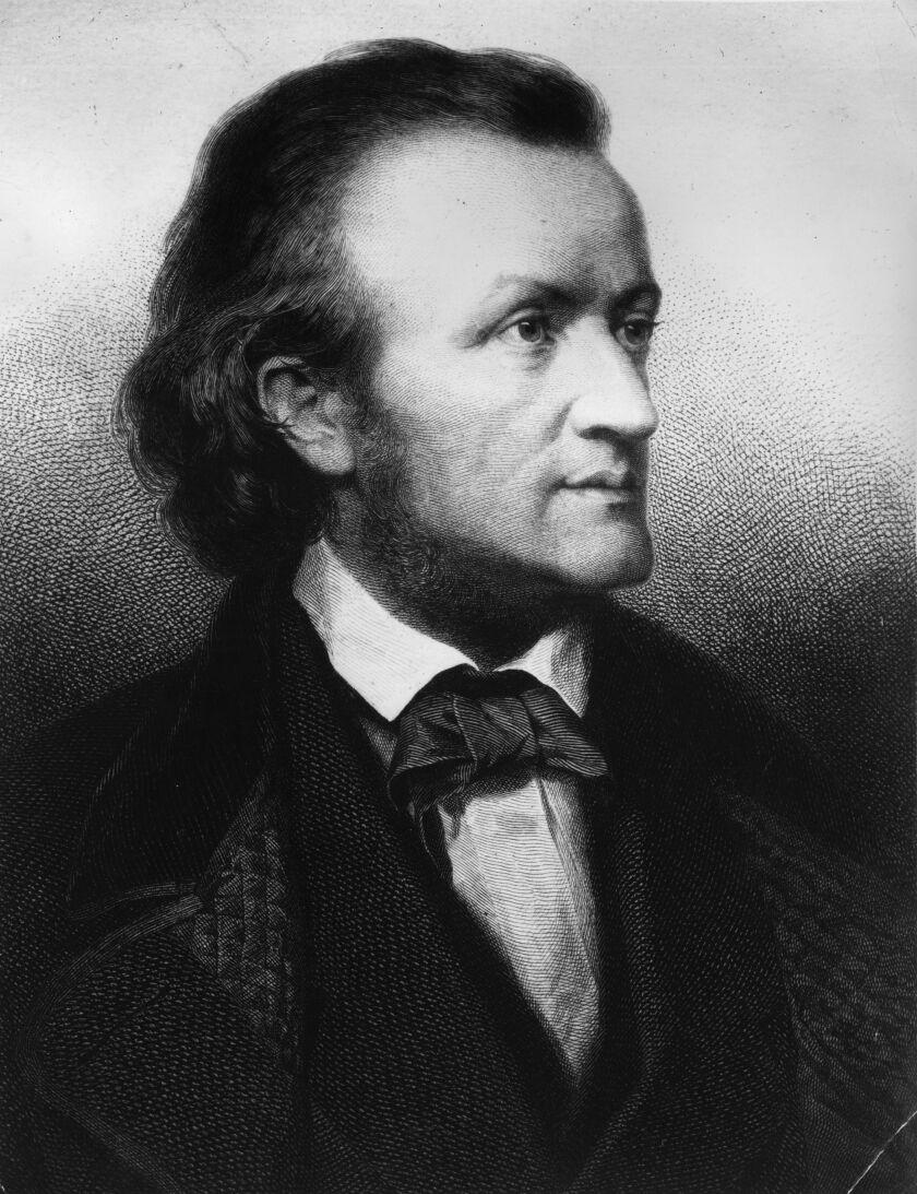 German composer and musical theorist Richard Wilhelm Wagner