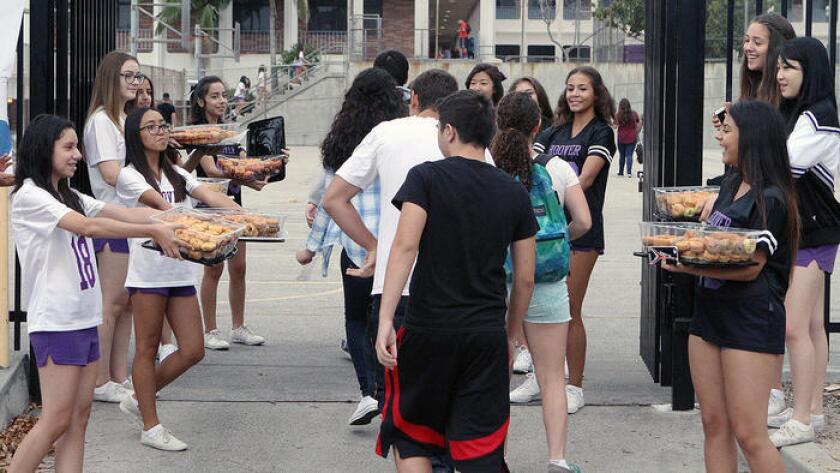 Estudiantes de Glendale.