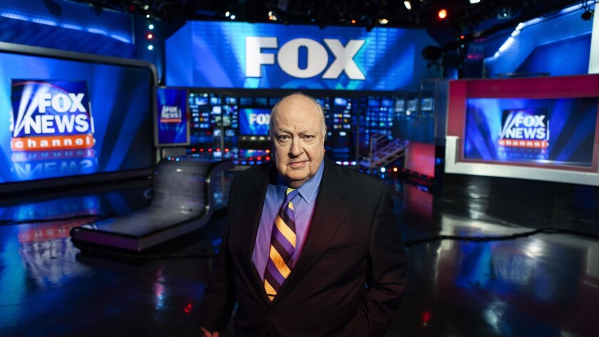 "Roger Ailes in The Fox Studios, 2011 in ""DIVIDE AND CONQUER: THE STORY OF ROGER AILES,"" a Magnolia P"