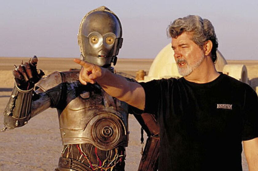 Renowned film producer George Lucas is known for his individuality and nothing-is-impossible attitude.