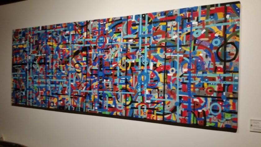 Tyson King painting