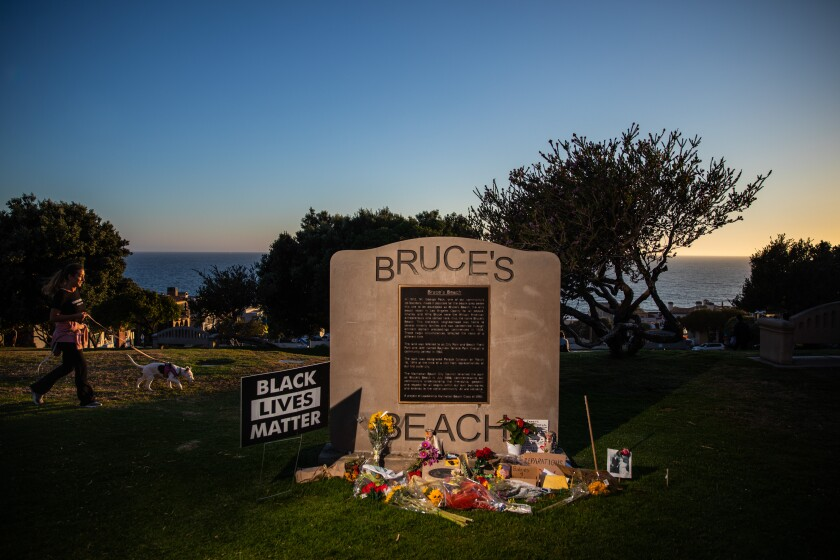 Bruce's Beach is a park in Manhattan Beach with a racist history.