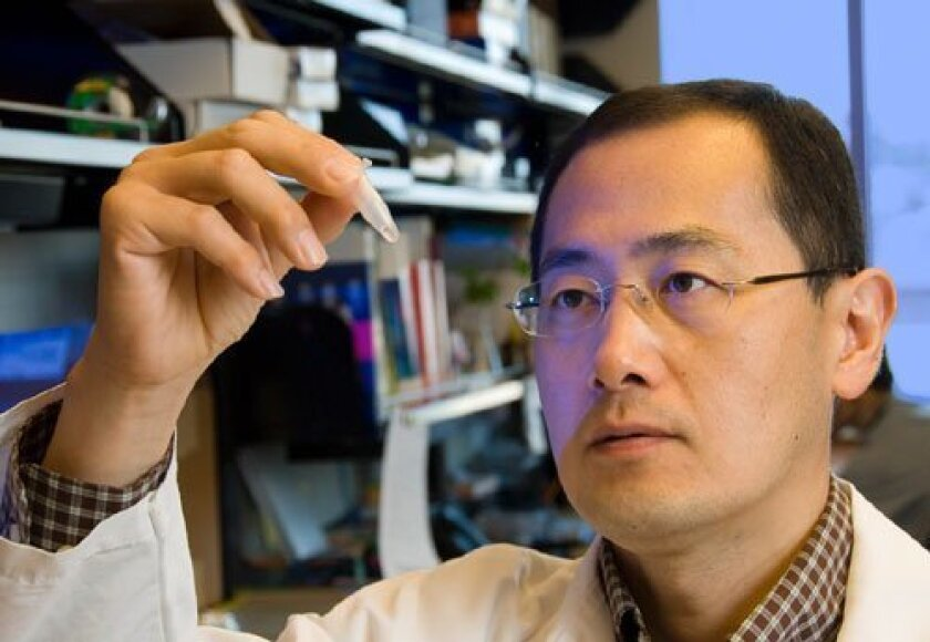 Shinya Yamanaka, who shared a Nobel Prize for his work on induced pluripotent stem cells.