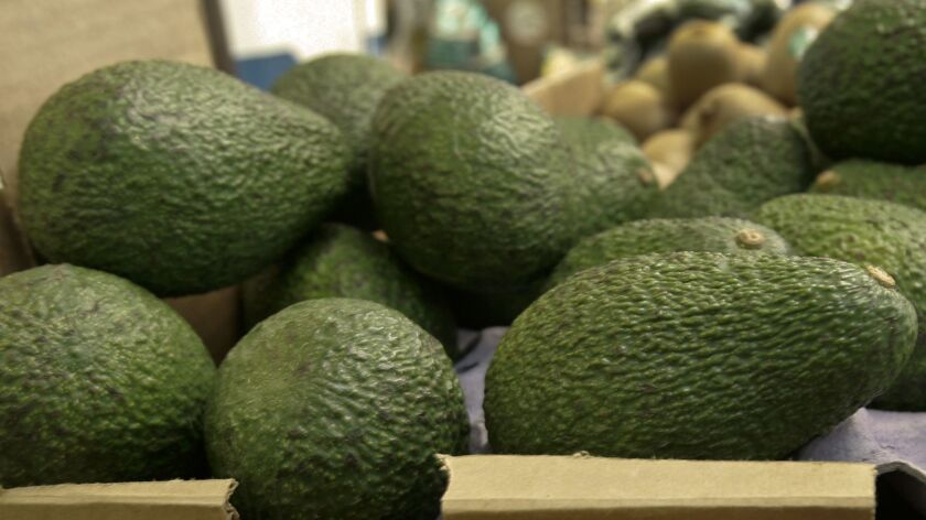 """Henry Avocado, based near San Diego, voluntarily recalled its California-grown """"Henry""""-labeled whole avocados."""