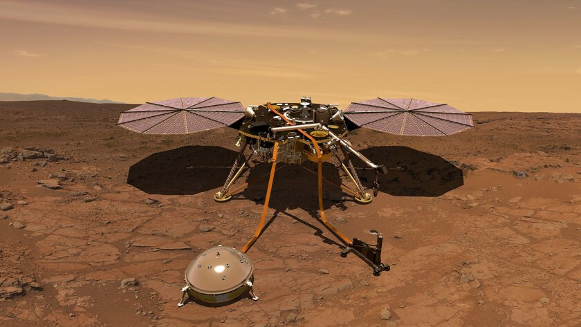 InSight: NASA's next mission to Mars will go deep beneath the red planet's surface