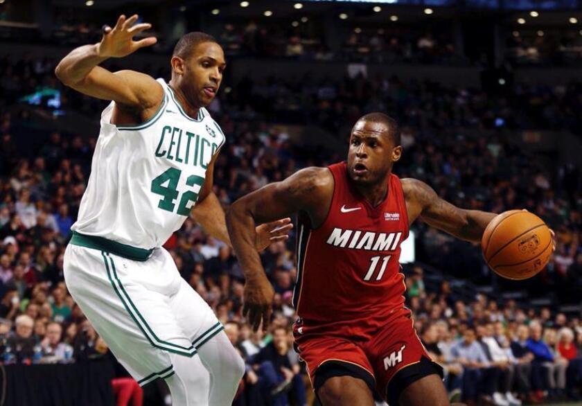 Imagen der archivo del defensa de los Miami Heat Dion Waiters (d). EFE/Archivo