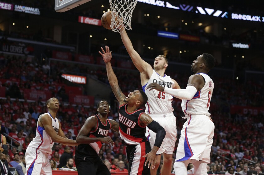 The reserve clause in Clippers' playoff wins: Backups have had a big role