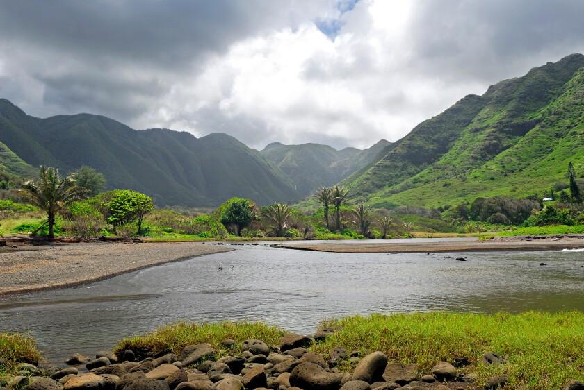 Halawa Valley on Molokai.