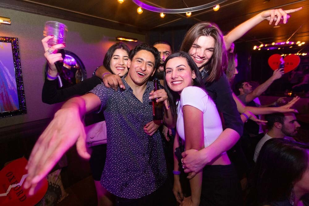 Guests at the No Strings Attached Anti-Valentine's Day Party kept it casual at Oxford Social Club on Thursday, Feb. 14, 2019.