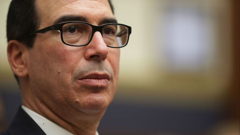 Treasury Secretary Steven Mnuchin Testifies To House Financial Services Committee On The State Of The Int'l Financial System