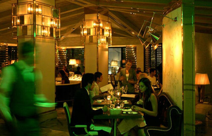 NEW ADDITION: Gordon Ramsay at the London hotel in West Hollywood is one of many restaurants from the British chef.