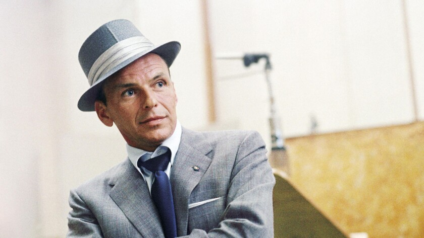 """I think the idea was, 'Oh my God, [Frank Sinatra's] retiring -- we better photograph this,'"" filmmaker Alex Gibney said."