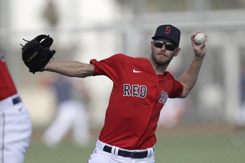 Red Sox Spring Baseball