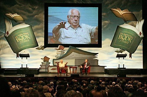 Tommy Lasorda at the 2008 Festival of Books