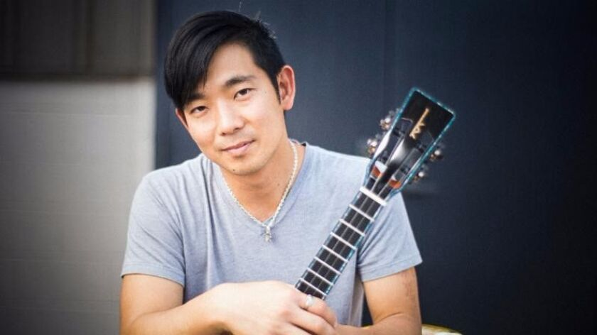 Jake Shimabukuro has expanded the musical range and audience for the ukulele. He performs at Humphreys on July 14.