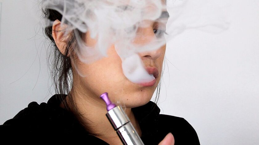 The U.S. surgeon general has a new report on electronic cigarettes that focuses on the risks for teens and young adults.