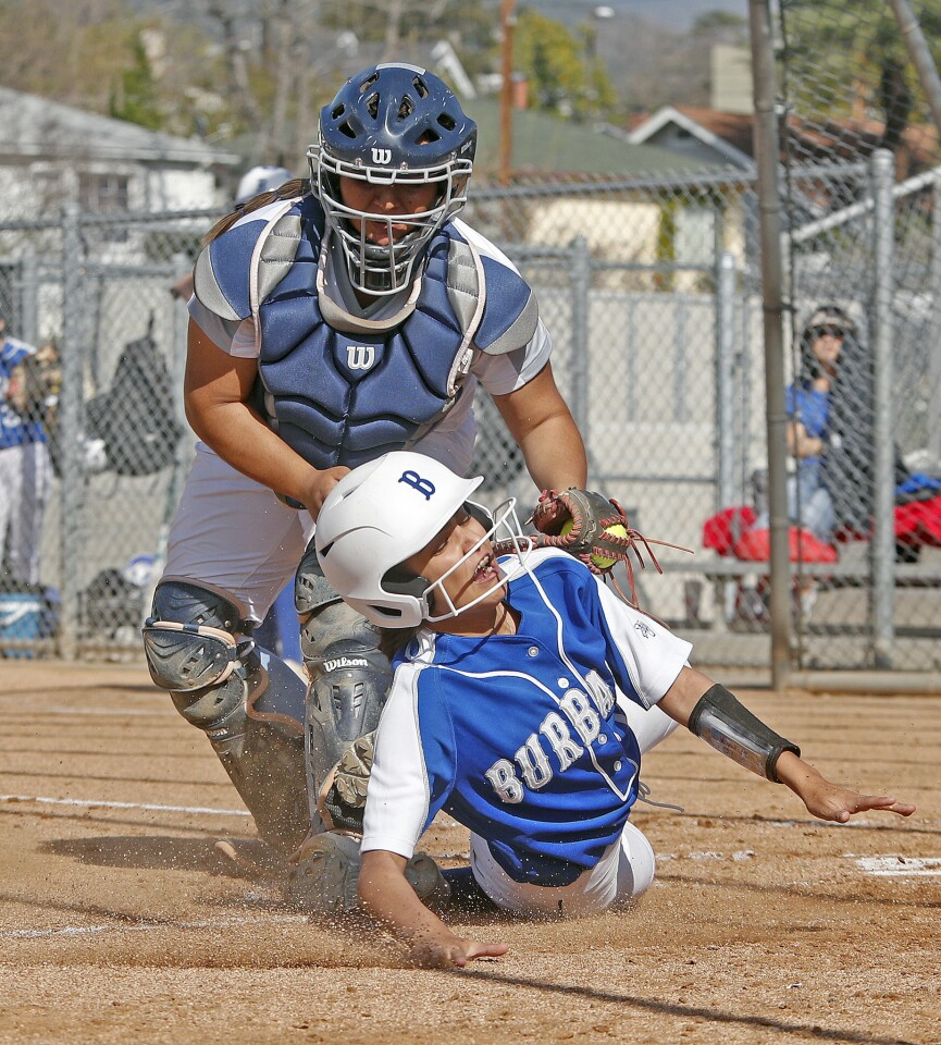 Photo Gallery: Crescenta Valley vs. Burbank in Pacific League softball