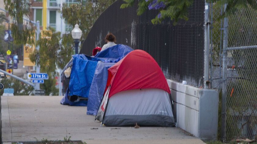 Homeless in San Diego.