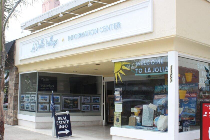 La Jolla Village Information Center at 1162 Prospect St. cost $10,000 per month to rent.