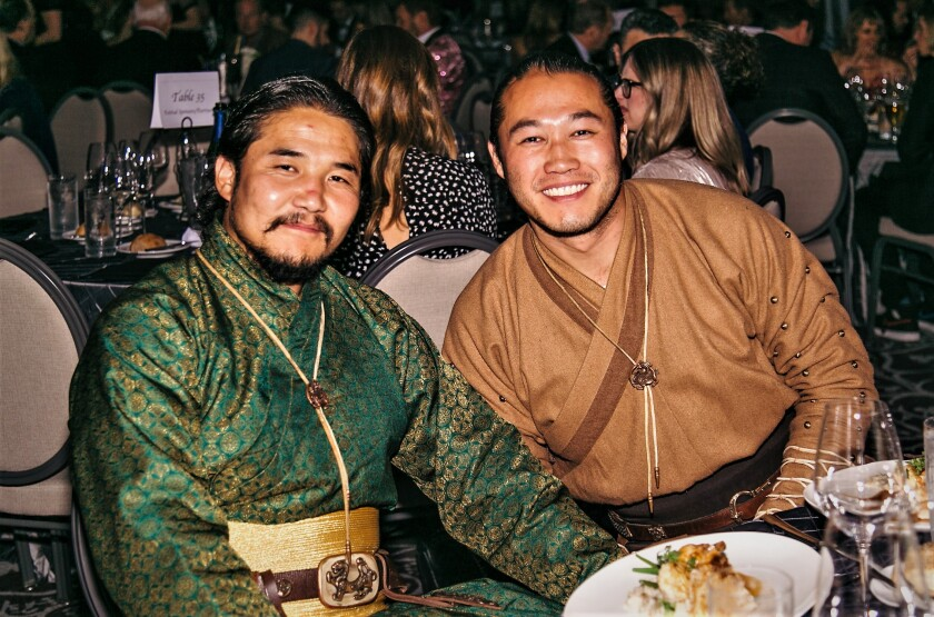 """""""The Steed,"""" a feature film made in Mongolia, had its North American premiere Oct. 19 at the San Diego International Film Festival, and crew members stayed in character at the awards gala."""
