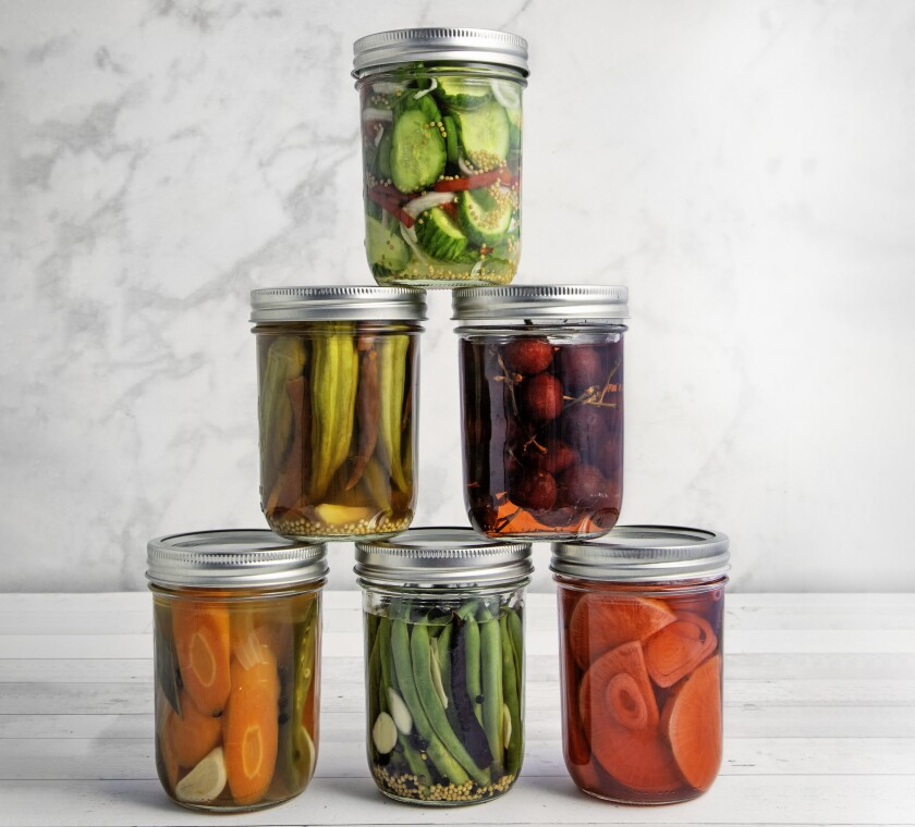 Quick pickling gives fresh veggies and fruit a tangy crunch in a day or less - The San Diego Union-Tribune