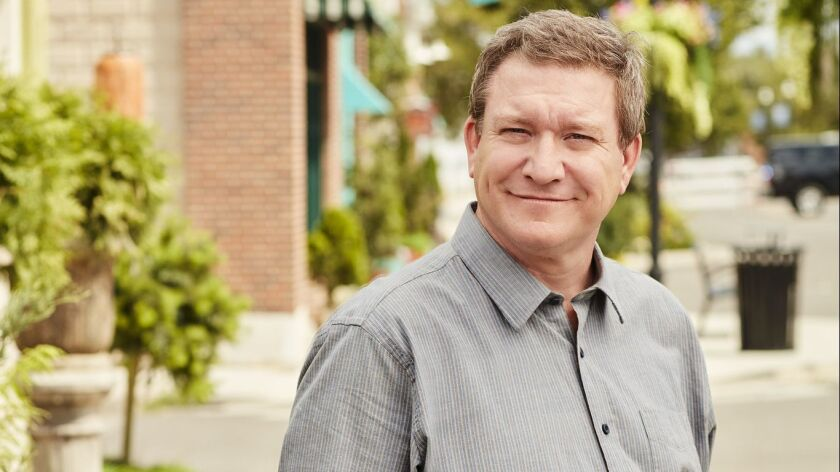"Actor Stoney Westmoreland as grandfather Henry ""Ham"" Mack on the Disney Channel series ""Andi Mack."""