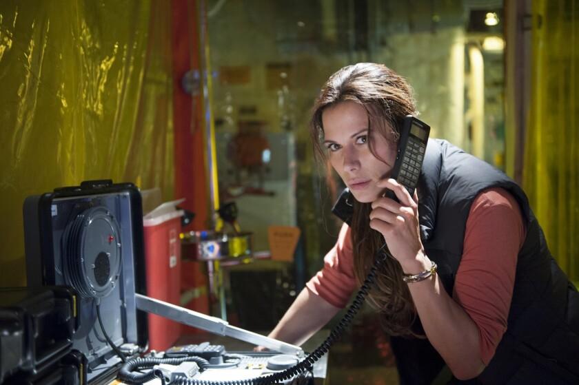 "Rhona Mitra stars in the new TNT drama ""The Last Ship."""