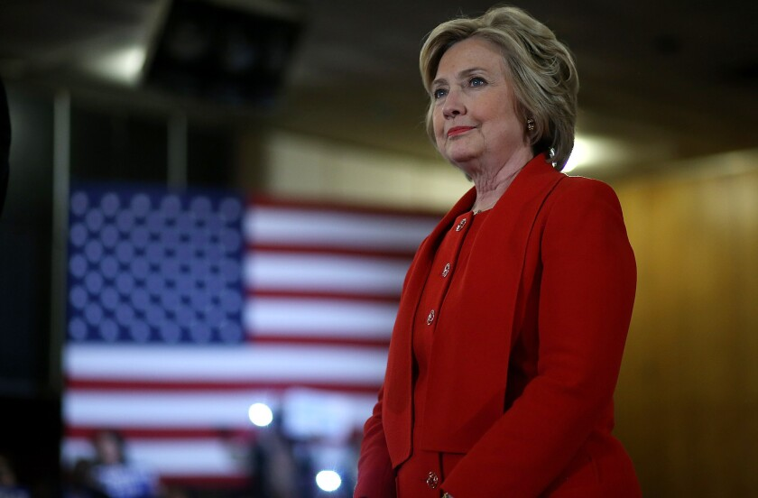 Hillary Clinton will formally accept the Democratic Party's nomination for president during the national convention in Philadelphia this week.