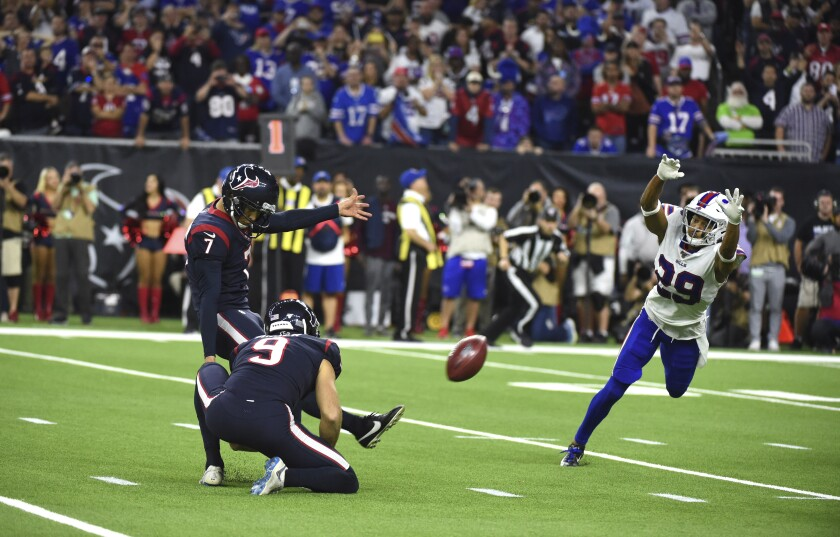 APTOPIX Bills Texans Football