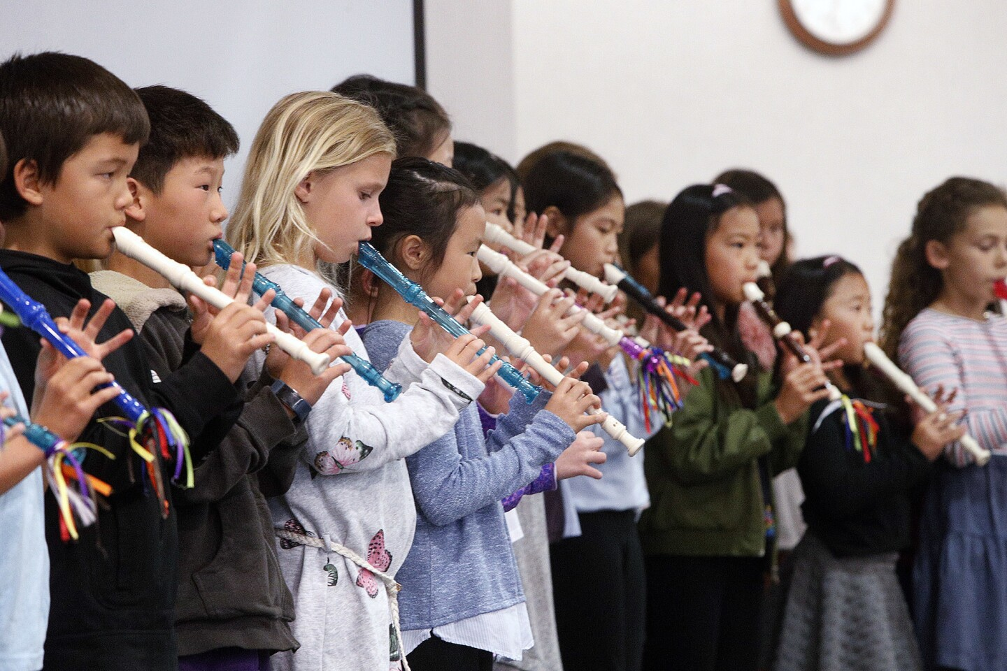 Photo Gallery: La Canada Unified School District Spotlight on Students and newly installed area school PTA boards