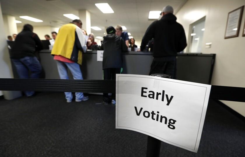 Iowa Early Voting