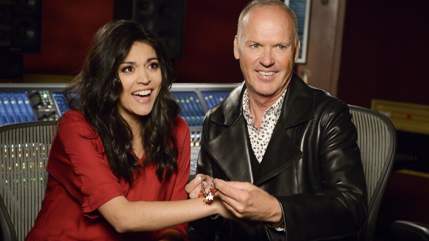 """Birdman"" star Michael Keaton will guest host ""Saturday Night Live"" on NBC. With Cecily Strong."