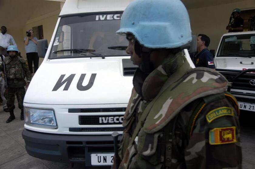 """La ONU anunció hoy que pidió a Sri Lanka que sustituya al comandante de su contingente de """"cascos azules"""" en Mali tras recibir información sobre su supuesta participación en crímenes cometidos en su país. EFE/Archivo"""