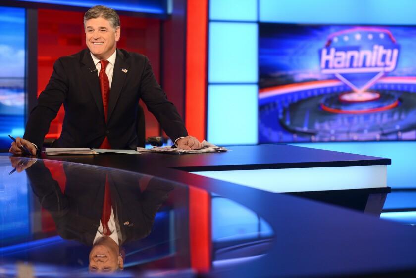 Fox News host Sean Hannity