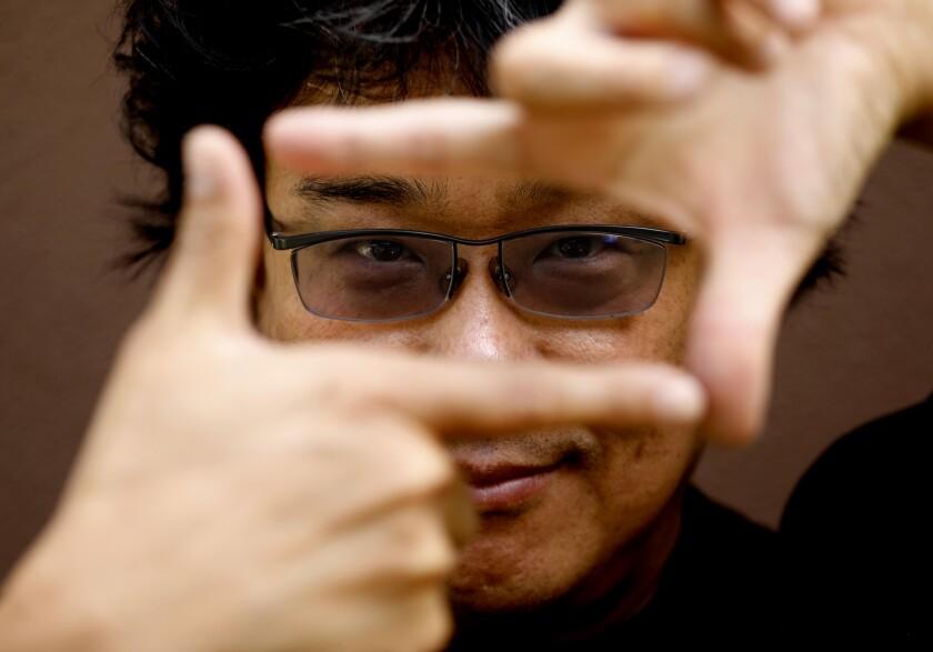 Korean filmmaker Bong Joon Ho, director and co-writer of 'Parasite'