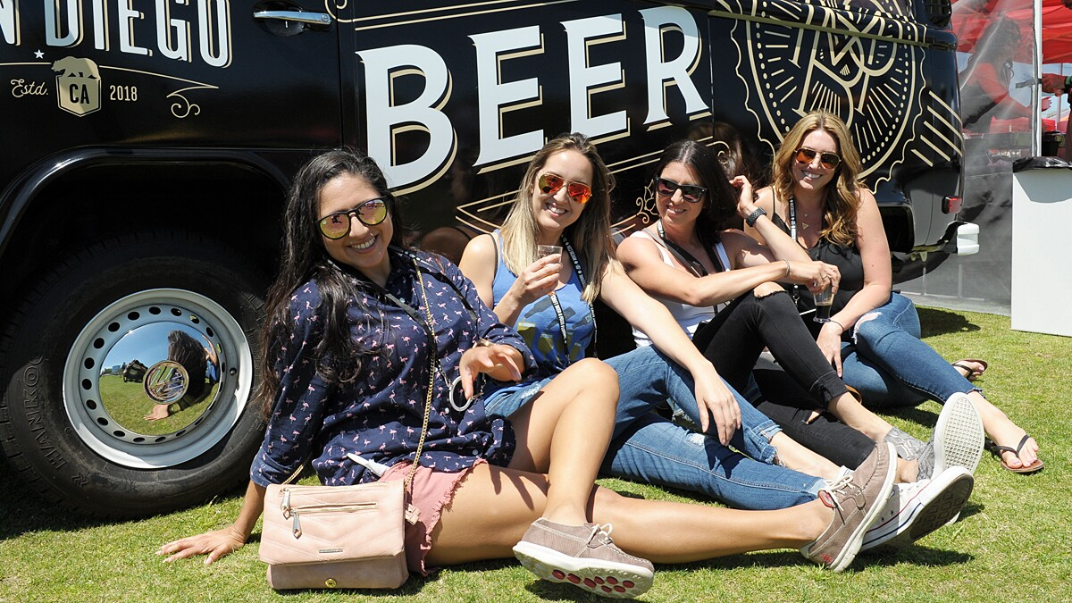 San Diegans enjoyed unlimited craft beer, spirits and food at the Mission Valley Craft Beer and Food Festival on Saturday, April 27, 2019.