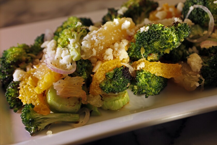 Recipe: August's charred broccoli salad
