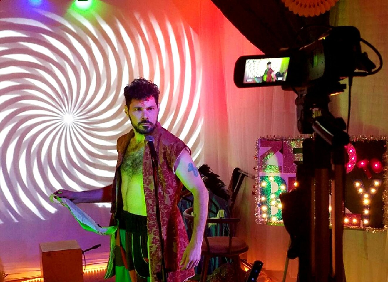 Showman Bushwalla reinvents himself