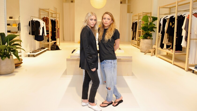 Mary-Kate, Ashley Olsen's Elizabeth and James label opens its first store at the Grove