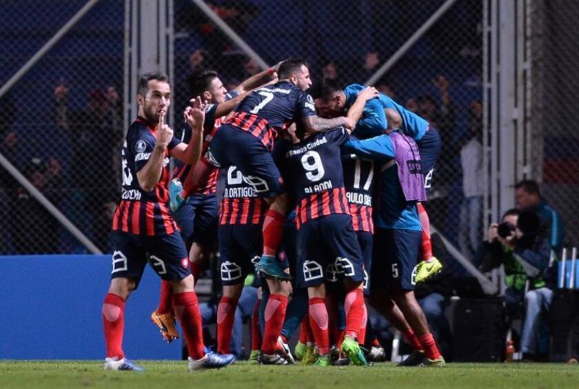 En la imagen, jugadores de San Lorenzo de Argentina. EFE/Archivo