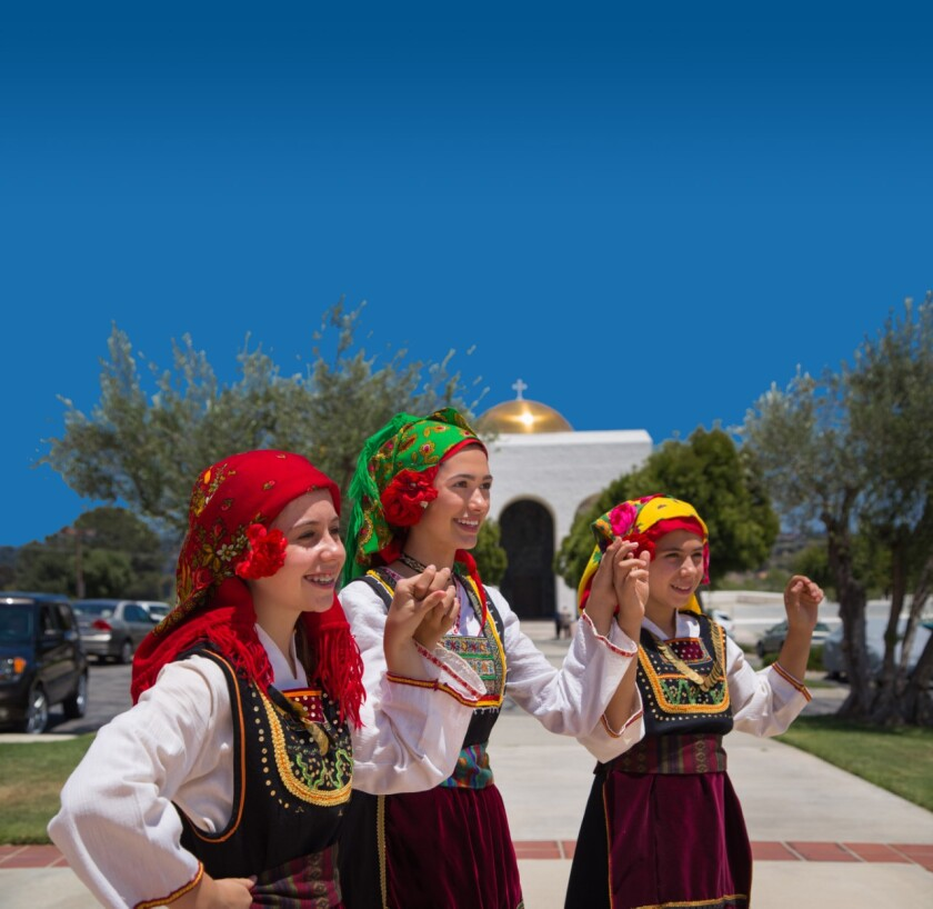 Greek dancers will be among the entertainment at the 41st Annual Cardiff Greek Festival on Sept. 7 and 8.