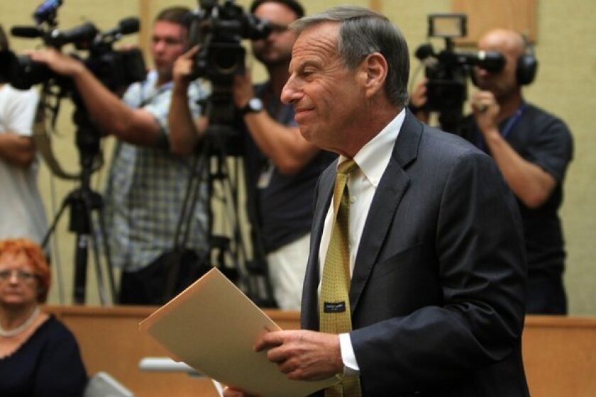 Outgoing San Diego Mayor Bob Filner is the subject of a new claim of sexual harassment.