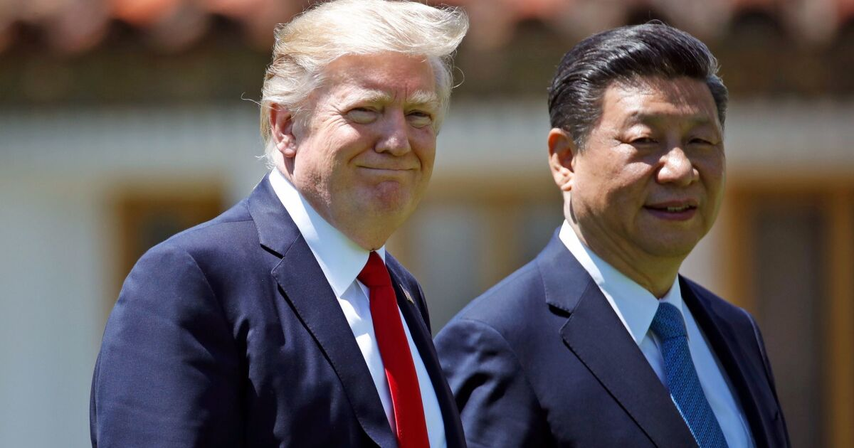 Trump likely to slap limited sanctions on China over Hong Kong crackdown image
