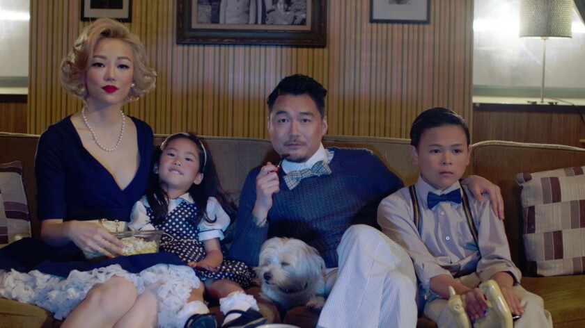 Dumbfoundead makes his mark on American movies by superimposing his face over white film characters.