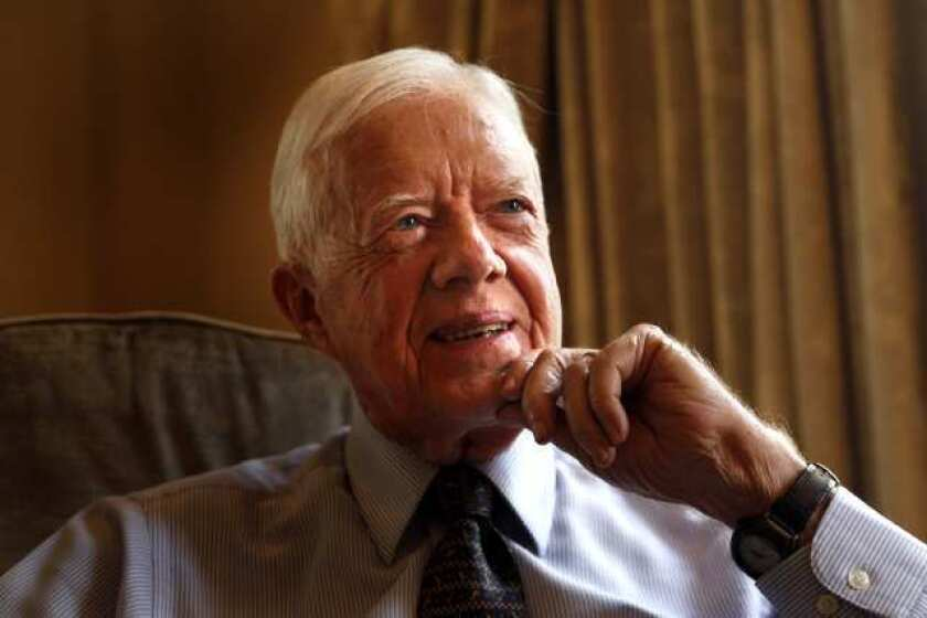Jimmy Carter turns 95 years old, making him the longest living president.