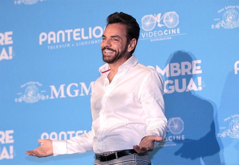 """El actor Eugenio Derbez posa para una fotografía durante la rueda de prensa de la película """"Hombre al Agua"""". EFE/Archivo"""