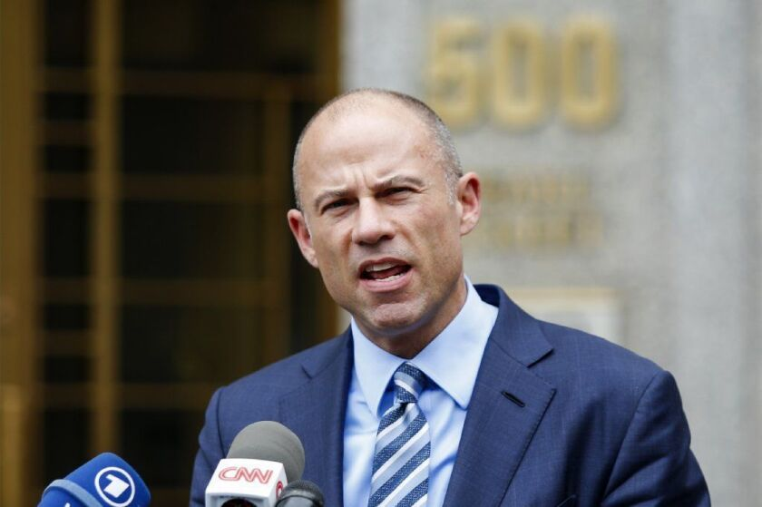Michael Cohen, President Donald Trump's personal attorney, lost his attempt to get an emergency gag order against Stormy Daniels' lawyer, Michael Avenatti, from speaking to the media.