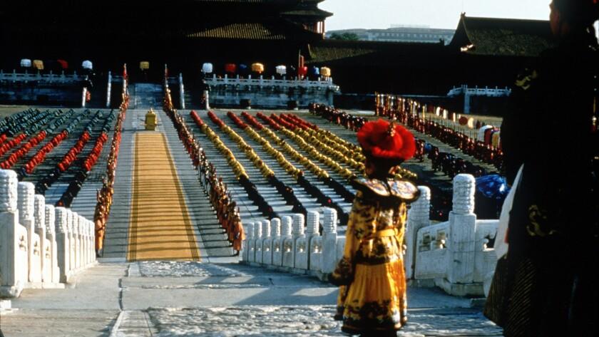 """Richard Vuu as Pu Yi in Bernardo Bertolucci's 1987 """"The Last Emperor."""""""