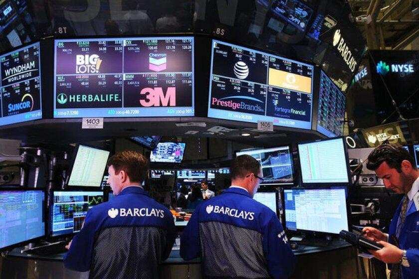 Investors on edge before Fed meeting