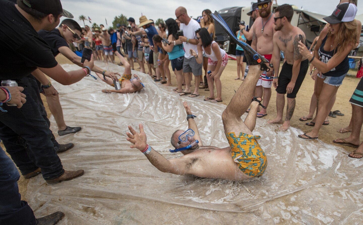 Photos: Faces of Stagecoach 2019: Country music fans come